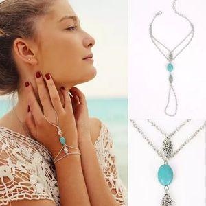 Jewelry - 🆕️ Boho Hand Finger Ring Chain Bracelet 🆕️